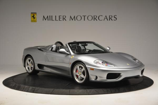 Used 2004 Ferrari 360 Spider 6-Speed Manual for sale Sold at Pagani of Greenwich in Greenwich CT 06830 11