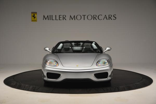 Used 2004 Ferrari 360 Spider 6-Speed Manual for sale Sold at Pagani of Greenwich in Greenwich CT 06830 12