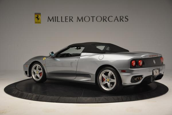 Used 2004 Ferrari 360 Spider 6-Speed Manual for sale Sold at Pagani of Greenwich in Greenwich CT 06830 16