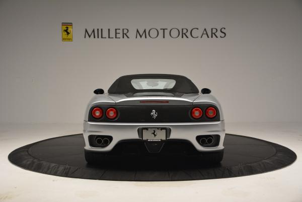 Used 2004 Ferrari 360 Spider 6-Speed Manual for sale Sold at Pagani of Greenwich in Greenwich CT 06830 18