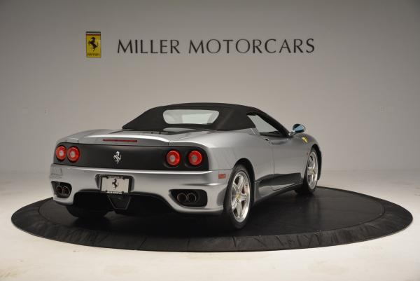 Used 2004 Ferrari 360 Spider 6-Speed Manual for sale Sold at Pagani of Greenwich in Greenwich CT 06830 19