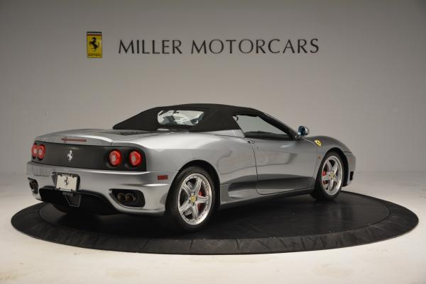 Used 2004 Ferrari 360 Spider 6-Speed Manual for sale Sold at Pagani of Greenwich in Greenwich CT 06830 20
