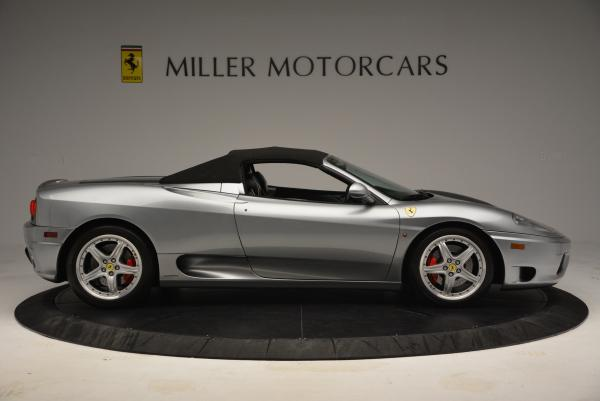 Used 2004 Ferrari 360 Spider 6-Speed Manual for sale Sold at Pagani of Greenwich in Greenwich CT 06830 21