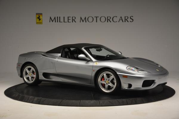 Used 2004 Ferrari 360 Spider 6-Speed Manual for sale Sold at Pagani of Greenwich in Greenwich CT 06830 22