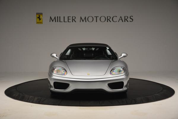 Used 2004 Ferrari 360 Spider 6-Speed Manual for sale Sold at Pagani of Greenwich in Greenwich CT 06830 24