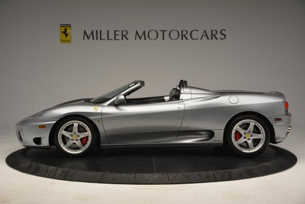 Used 2004 Ferrari 360 Spider 6-Speed Manual for sale Sold at Pagani of Greenwich in Greenwich CT 06830 3