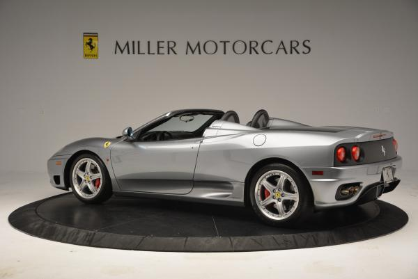 Used 2004 Ferrari 360 Spider 6-Speed Manual for sale Sold at Pagani of Greenwich in Greenwich CT 06830 4