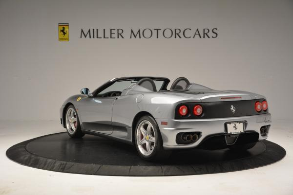 Used 2004 Ferrari 360 Spider 6-Speed Manual for sale Sold at Pagani of Greenwich in Greenwich CT 06830 5