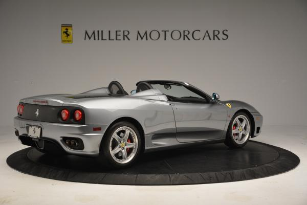 Used 2004 Ferrari 360 Spider 6-Speed Manual for sale Sold at Pagani of Greenwich in Greenwich CT 06830 8
