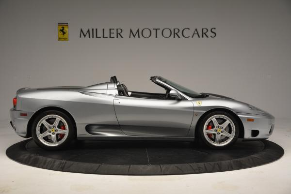 Used 2004 Ferrari 360 Spider 6-Speed Manual for sale Sold at Pagani of Greenwich in Greenwich CT 06830 9