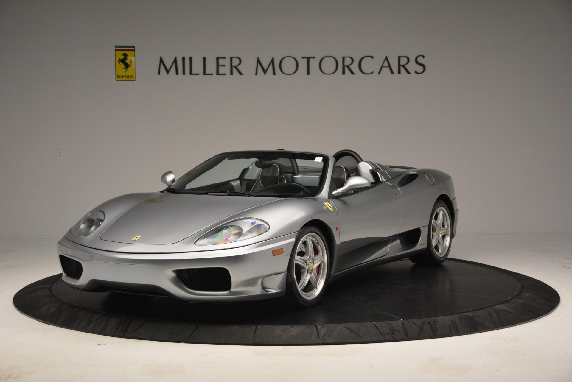 Used 2004 Ferrari 360 Spider 6-Speed Manual for sale Sold at Pagani of Greenwich in Greenwich CT 06830 1
