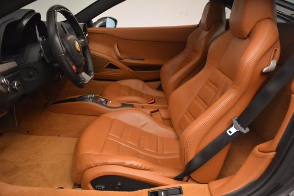 Used 2011 Ferrari 458 Italia for sale Sold at Pagani of Greenwich in Greenwich CT 06830 14