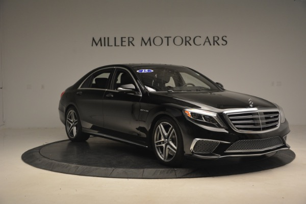 Used 2015 Mercedes-Benz S-Class S 65 AMG for sale Sold at Pagani of Greenwich in Greenwich CT 06830 11