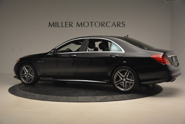 Used 2015 Mercedes-Benz S-Class S 65 AMG for sale Sold at Pagani of Greenwich in Greenwich CT 06830 4