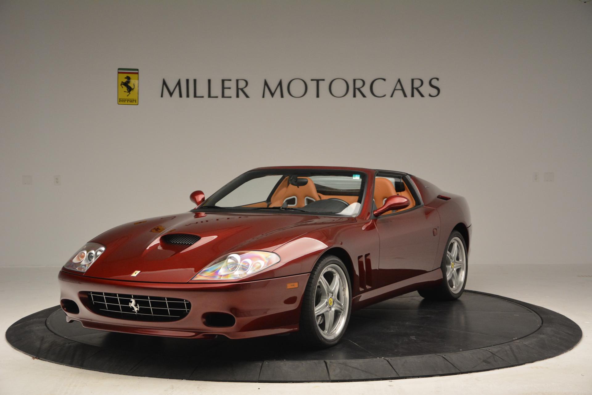 Used 2005 Ferrari Superamerica for sale Sold at Pagani of Greenwich in Greenwich CT 06830 1