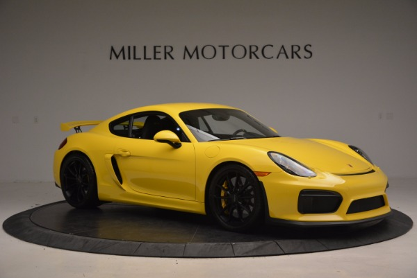 Used 2016 Porsche Cayman GT4 for sale Sold at Pagani of Greenwich in Greenwich CT 06830 10