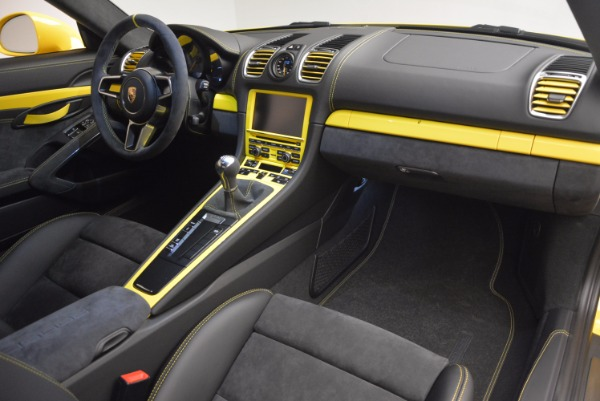 Used 2016 Porsche Cayman GT4 for sale Sold at Pagani of Greenwich in Greenwich CT 06830 17