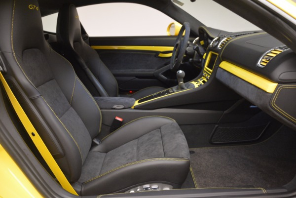 Used 2016 Porsche Cayman GT4 for sale Sold at Pagani of Greenwich in Greenwich CT 06830 18