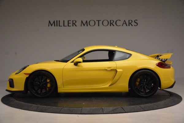 Used 2016 Porsche Cayman GT4 for sale Sold at Pagani of Greenwich in Greenwich CT 06830 3