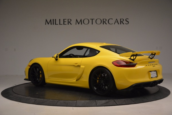 Used 2016 Porsche Cayman GT4 for sale Sold at Pagani of Greenwich in Greenwich CT 06830 4