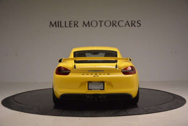 Used 2016 Porsche Cayman GT4 for sale Sold at Pagani of Greenwich in Greenwich CT 06830 6