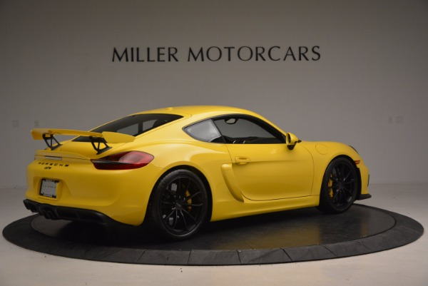 Used 2016 Porsche Cayman GT4 for sale Sold at Pagani of Greenwich in Greenwich CT 06830 8