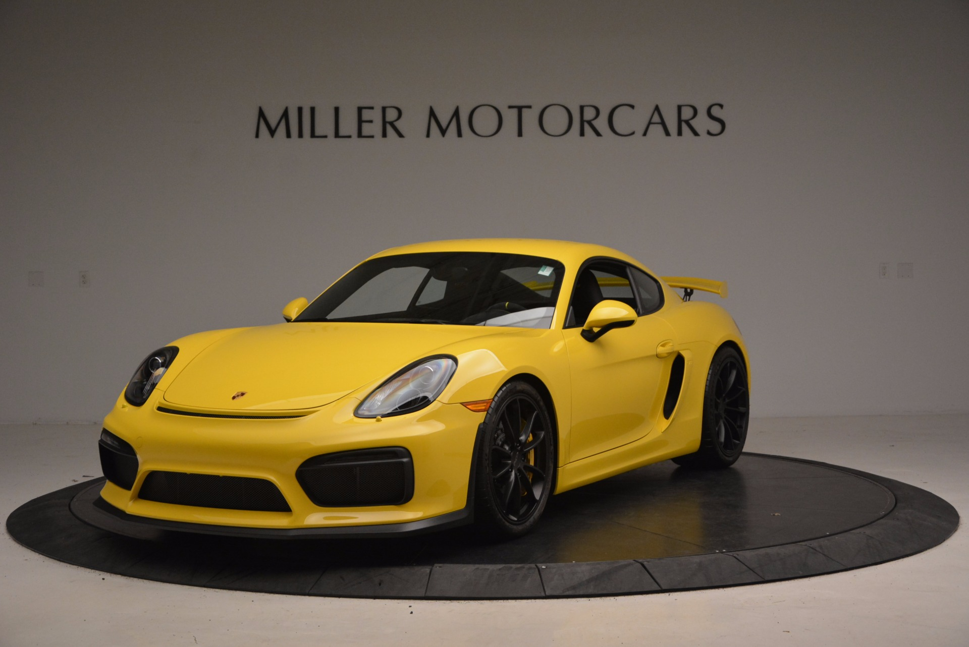 Used 2016 Porsche Cayman GT4 for sale Sold at Pagani of Greenwich in Greenwich CT 06830 1