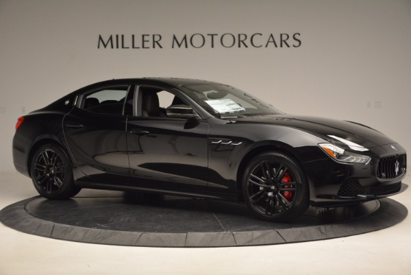 New 2017 Maserati Ghibli Nerissimo Edition S Q4 for sale Sold at Pagani of Greenwich in Greenwich CT 06830 10