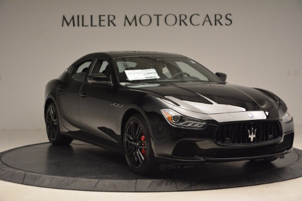New 2017 Maserati Ghibli Nerissimo Edition S Q4 for sale Sold at Pagani of Greenwich in Greenwich CT 06830 11