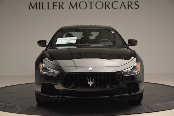 New 2017 Maserati Ghibli Nerissimo Edition S Q4 for sale Sold at Pagani of Greenwich in Greenwich CT 06830 12