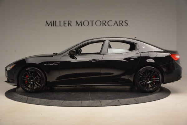 New 2017 Maserati Ghibli Nerissimo Edition S Q4 for sale Sold at Pagani of Greenwich in Greenwich CT 06830 3