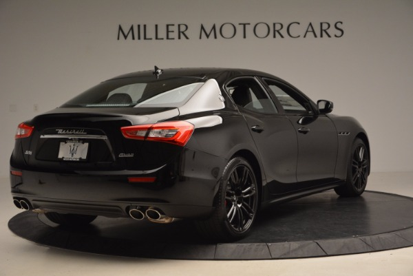 New 2017 Maserati Ghibli Nerissimo Edition S Q4 for sale Sold at Pagani of Greenwich in Greenwich CT 06830 7
