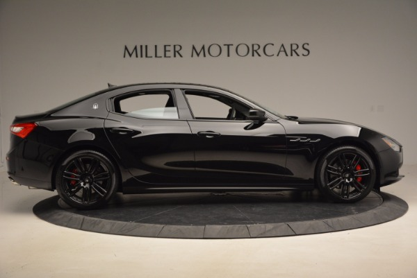 New 2017 Maserati Ghibli Nerissimo Edition S Q4 for sale Sold at Pagani of Greenwich in Greenwich CT 06830 9
