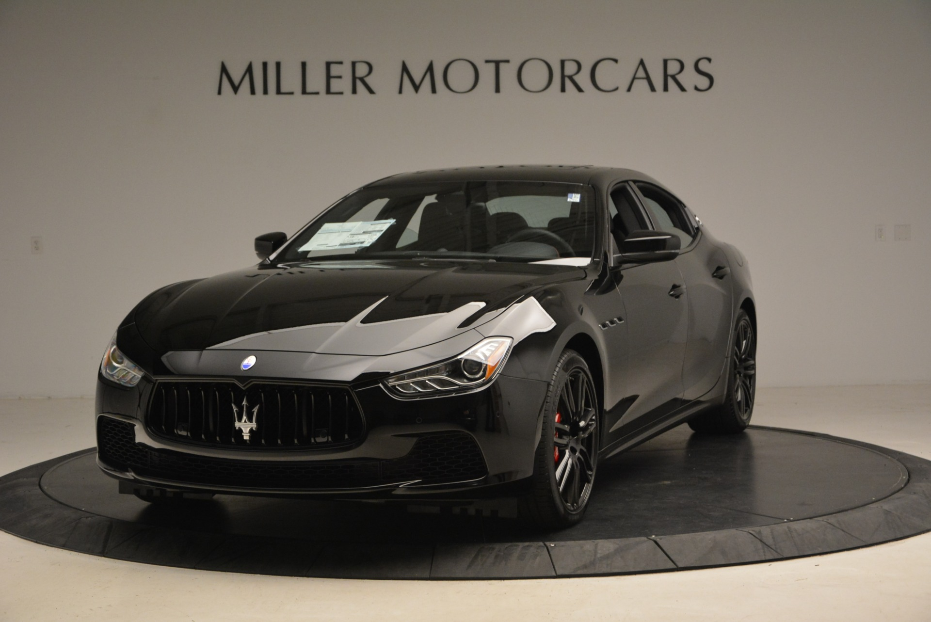 New 2017 Maserati Ghibli Nerissimo Edition S Q4 for sale Sold at Pagani of Greenwich in Greenwich CT 06830 1
