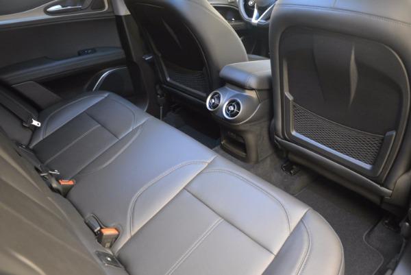 New 2018 Alfa Romeo Stelvio Ti Q4 for sale Sold at Pagani of Greenwich in Greenwich CT 06830 21
