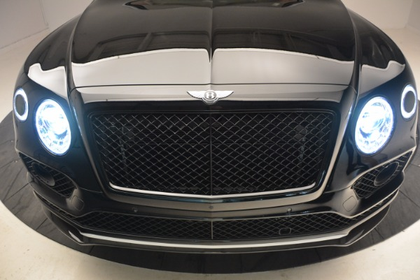 New 2018 Bentley Bentayga Black Edition for sale Sold at Pagani of Greenwich in Greenwich CT 06830 15
