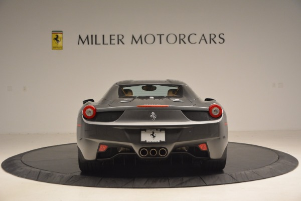 Used 2015 Ferrari 458 Spider for sale Sold at Pagani of Greenwich in Greenwich CT 06830 18