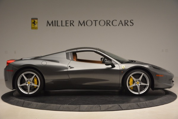 Used 2015 Ferrari 458 Spider for sale Sold at Pagani of Greenwich in Greenwich CT 06830 21