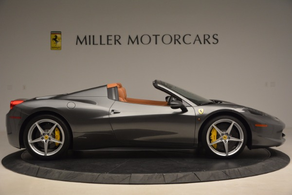 Used 2015 Ferrari 458 Spider for sale Sold at Pagani of Greenwich in Greenwich CT 06830 9