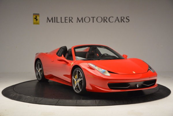 Used 2014 Ferrari 458 Spider for sale Sold at Pagani of Greenwich in Greenwich CT 06830 11