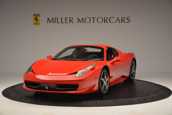 Used 2014 Ferrari 458 Spider for sale Sold at Pagani of Greenwich in Greenwich CT 06830 13