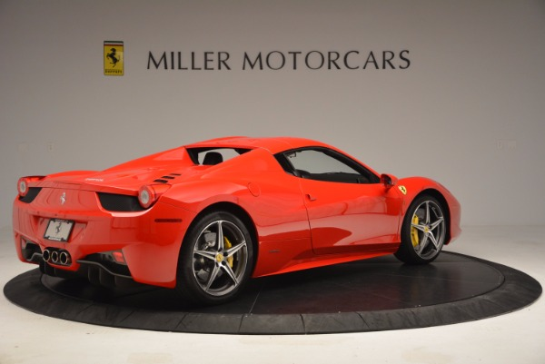Used 2014 Ferrari 458 Spider for sale Sold at Pagani of Greenwich in Greenwich CT 06830 20