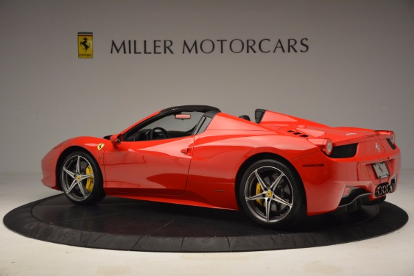 Used 2014 Ferrari 458 Spider for sale Sold at Pagani of Greenwich in Greenwich CT 06830 4