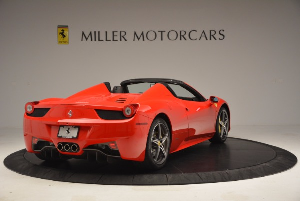 Used 2014 Ferrari 458 Spider for sale Sold at Pagani of Greenwich in Greenwich CT 06830 7