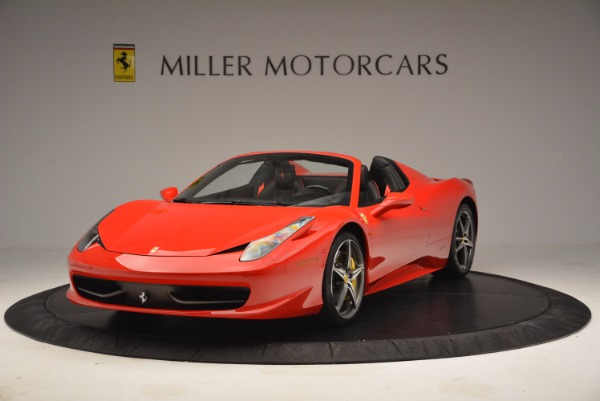 Used 2014 Ferrari 458 Spider for sale Sold at Pagani of Greenwich in Greenwich CT 06830 1