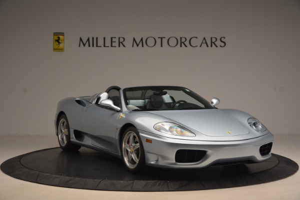 Used 2003 Ferrari 360 Spider 6-Speed Manual for sale Sold at Pagani of Greenwich in Greenwich CT 06830 11