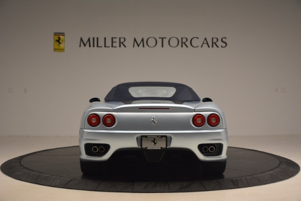 Used 2003 Ferrari 360 Spider 6-Speed Manual for sale Sold at Pagani of Greenwich in Greenwich CT 06830 18