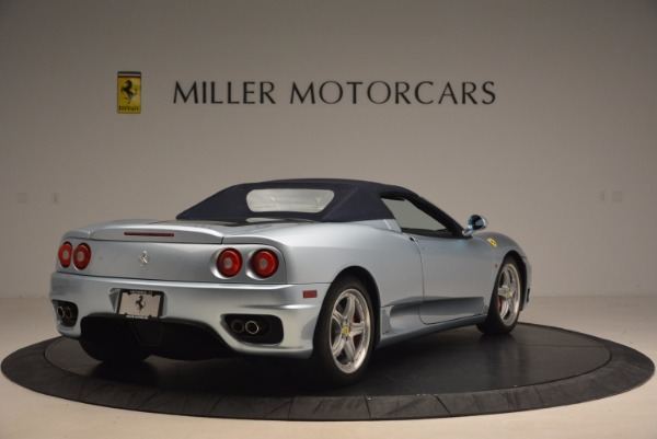 Used 2003 Ferrari 360 Spider 6-Speed Manual for sale Sold at Pagani of Greenwich in Greenwich CT 06830 19