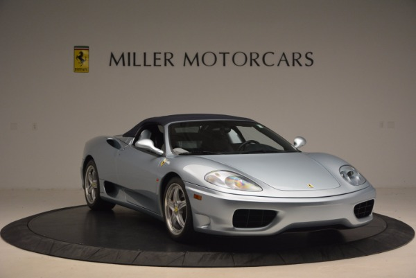 Used 2003 Ferrari 360 Spider 6-Speed Manual for sale Sold at Pagani of Greenwich in Greenwich CT 06830 23