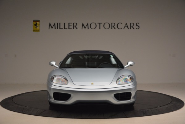 Used 2003 Ferrari 360 Spider 6-Speed Manual for sale Sold at Pagani of Greenwich in Greenwich CT 06830 24